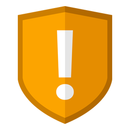 Security Caution icon