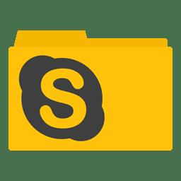 Skype Folder icon