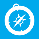 Web Browsers Safari alt Metro icon