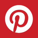Web Pinterest alt Metro icon