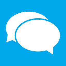 Apps Messaging alt Metro icon