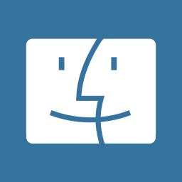 Folders OS Finder Metro icon