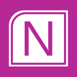 Office Apps OneNote alt 1 Metro icon
