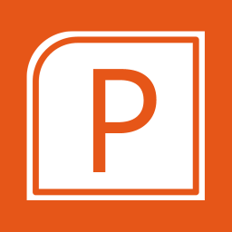 Office Apps PowerPoint alt 1 Metro icon
