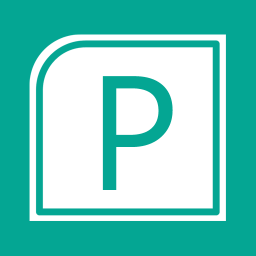 Office Apps Publisher alt 1 Metro icon