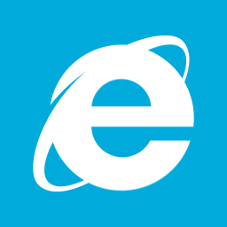 Web Browsers Internet Explorer 10 Metro icon