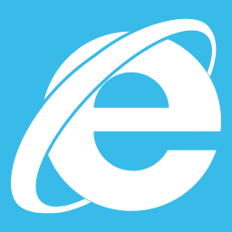 Web Browsers Internet Explorer alt Metro icon
