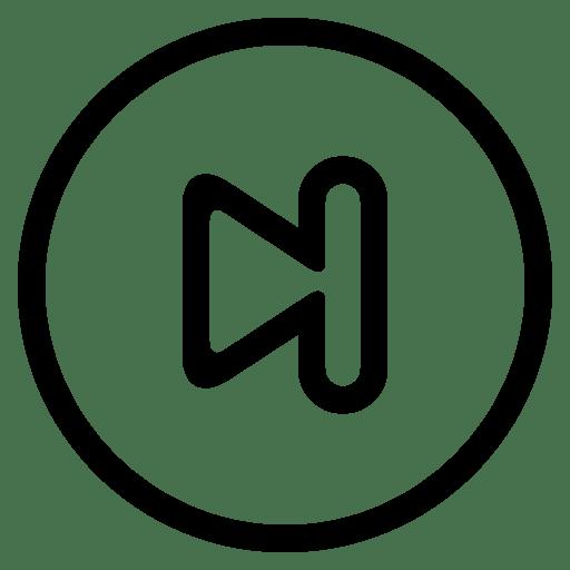 last track icon