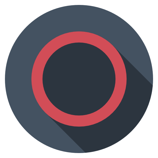 Playstation-circle-dark icon