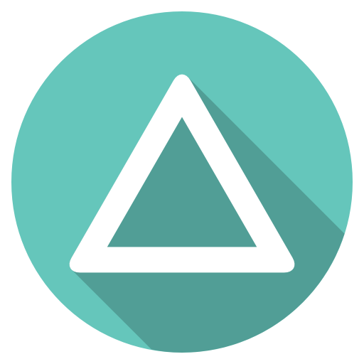 Playstation-triangle icon