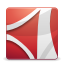 Apps Adobe Reader icon