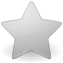 Star grey icon