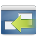Window session properties icon