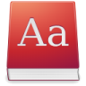 Apps-dictionary icon