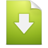 Document-download icon