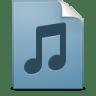 Document-music-playlist icon