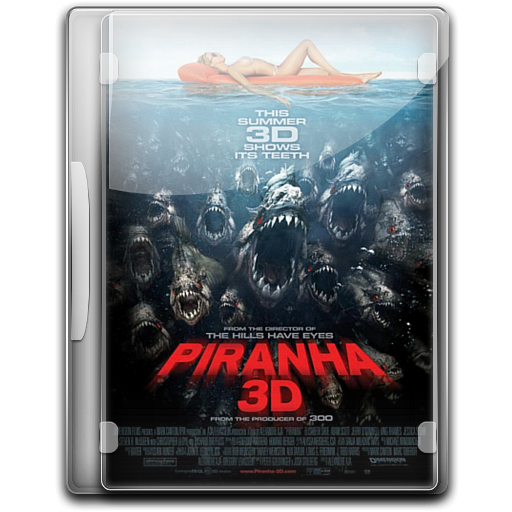 Piranha-3D icon
