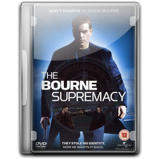 The Bourne Supremacy v3 icon