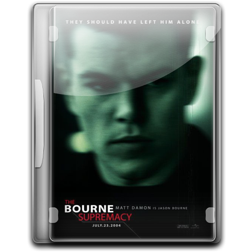 The Bourne Supremacy v4 icon
