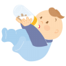 Baby-drinking icon