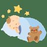 Baby-sleeping icon