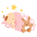 Baby-sleeping icon