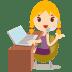 Callcenter-girls-blonde icon