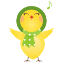 Singing-chicken icon