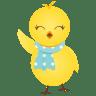 Waving-chicken icon