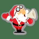 Santa shout icon