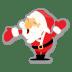 Santa-hand icon