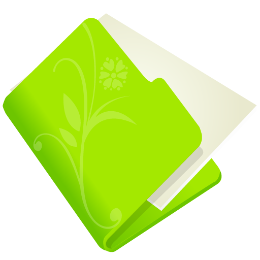 Green Folder Icon Mac Folder-flower-green icon: imgarcade.com/1/green-folder-icon-mac