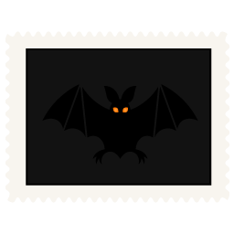 stamp bat icon