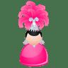 Magic-woman-pink icon