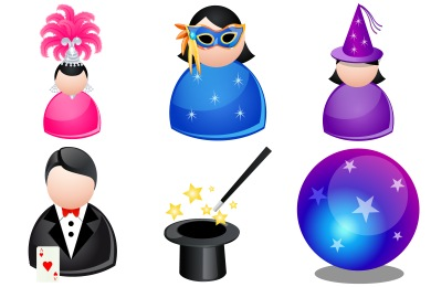 Magic People Icons