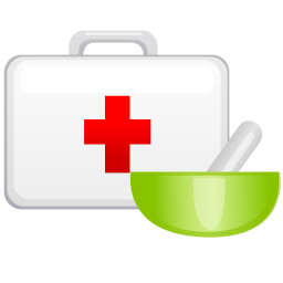 Medical case icon