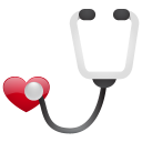 stethoscope no sh icon