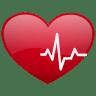 Heart-beat-no-sh icon