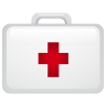 Medical-suitecase icon