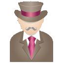 ícone cavalheiro