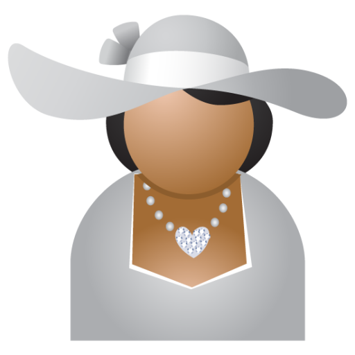 Miss-grey-hat icon