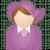 Miss-purple-hat icon