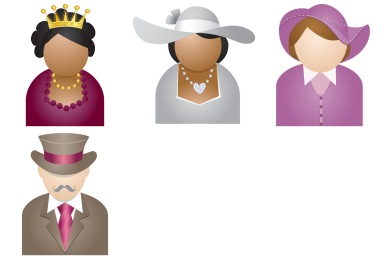 People With Hat Icons