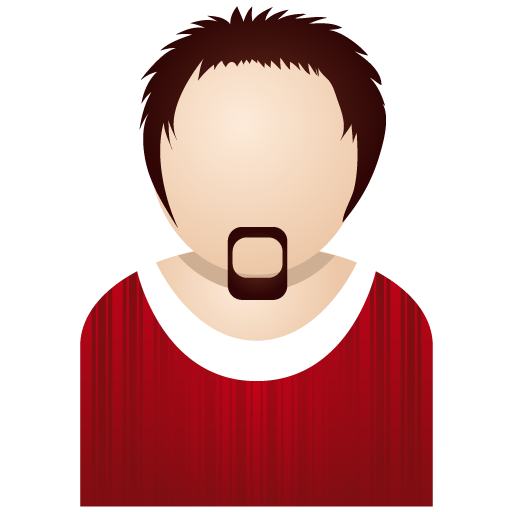 Red man Icon | People Iconset | DaPino