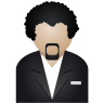 Black-man icon