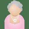 Grey-woman icon