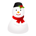 Snowman cap icon