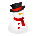 snowman hat icon