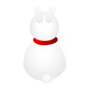 rabbit back icon