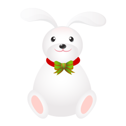 Rabbit long ears icon